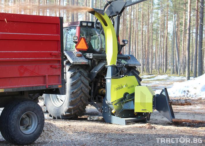 Машини за дърводобив Дробилка JUNKKARI HJ261 GT - НАЛИЧНА 0 - Трактор БГ