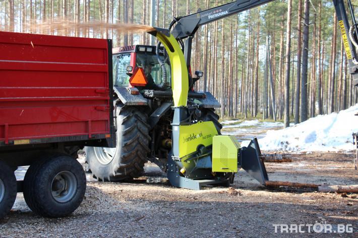 Машини за дърводобив Дробилка JUNKKARI HJ261 GT - НАЛИЧНА 2 - Трактор БГ