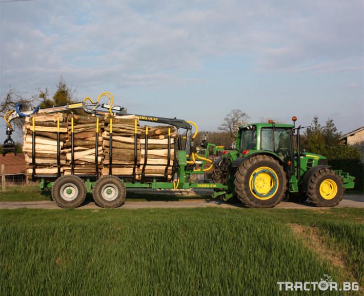 Машини за дърводобив FARMA CT 6,3-9 0 - Трактор БГ