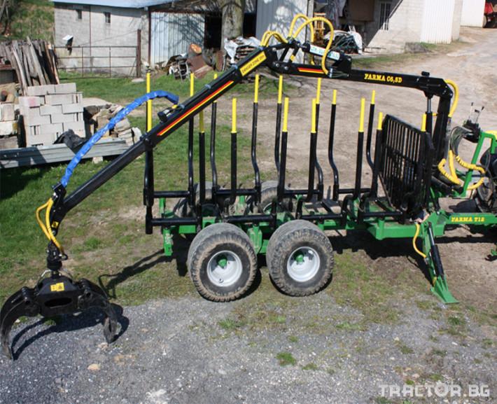 Машини за дърводобив FARMA CT 6,3-9 2 - Трактор БГ
