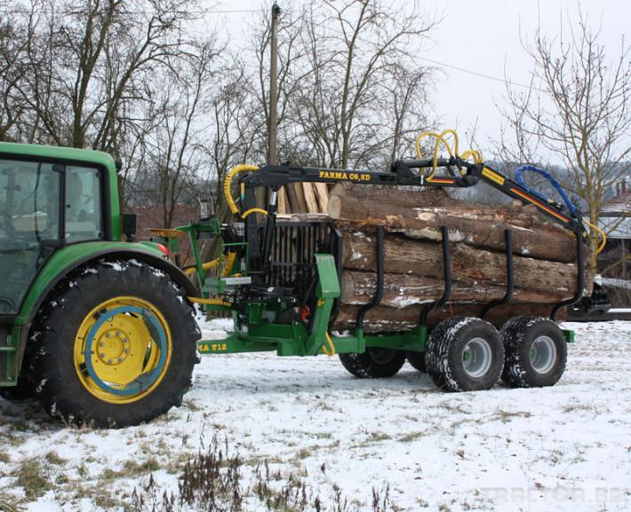 Машини за дърводобив FARMA CT 6,3-9 3 - Трактор БГ