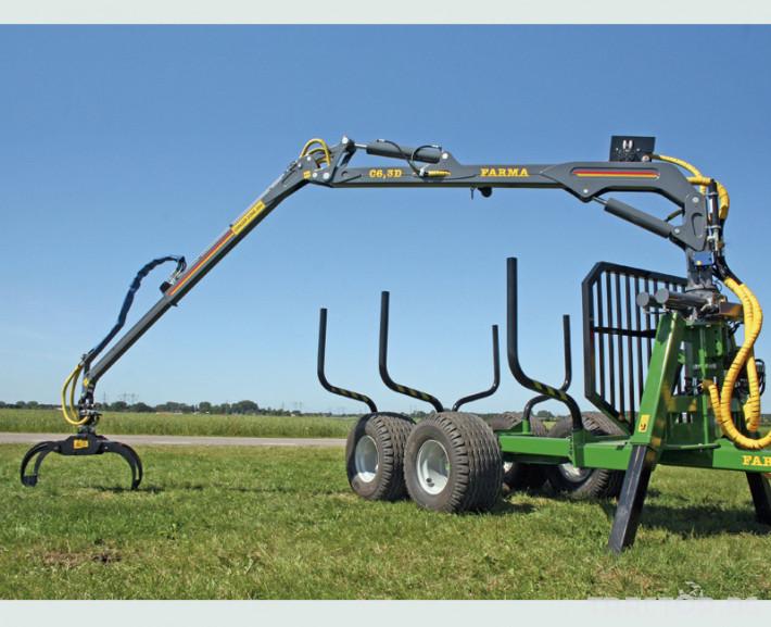 Машини за дърводобив FARMA CT 6,3-9 5 - Трактор БГ