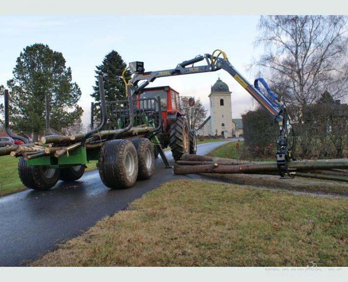Машини за дърводобив FARMA CT 6,3-9 6 - Трактор БГ