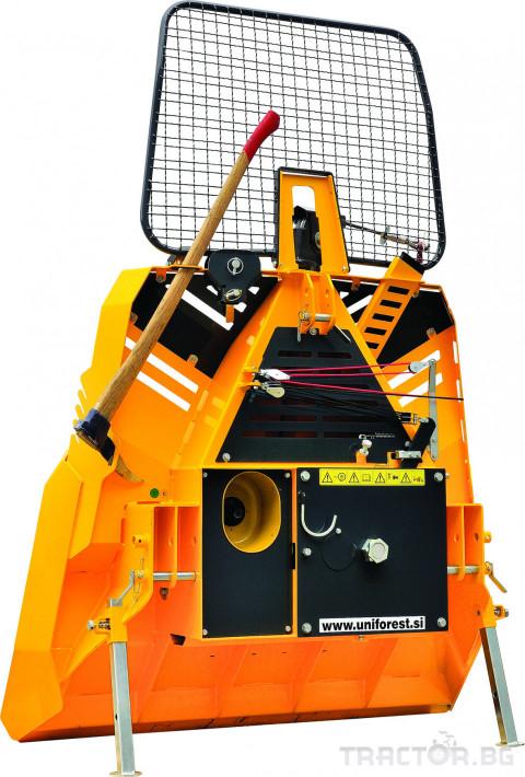 Машини за дърводобив Механична лебедка UNIFOREST 65MR 1 - Трактор БГ