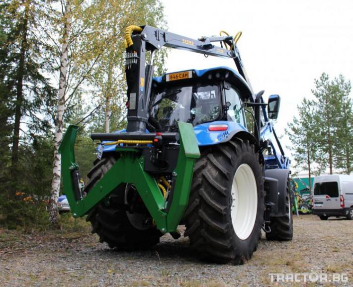 Машини за дърводобив КРАН FARMA C7,0 - 7 метра, за монтаж на трактор 0