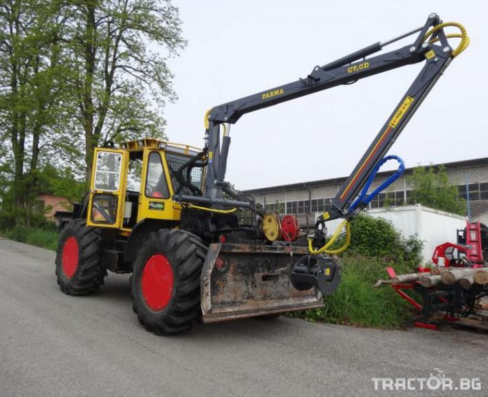 Машини за дърводобив КРАН FARMA C7,0 - 7 метра, за монтаж на трактор 2