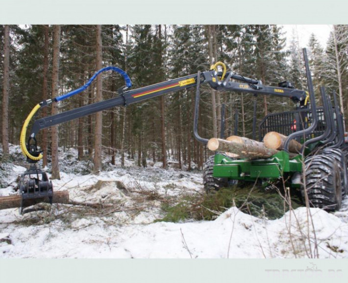 Машини за дърводобив КРАН FARMA C7,0 - 7 метра, за монтаж на трактор 3