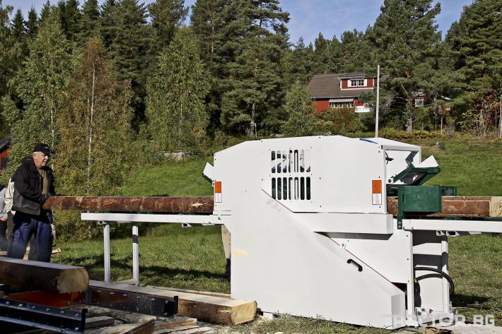 Машини за дърводобив Касетъчен трион LOGOSOL (Швеция) 1