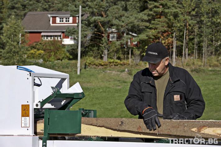 Машини за дърводобив Касетъчен трион LOGOSOL (Швеция) 2