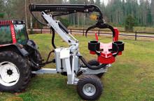 HYPRO 755 НB с колесар и кран 7,5 м