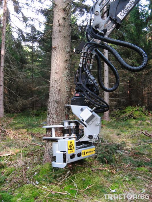 Машини за дърводобив Поваляща глава HYPRO  FG45 3