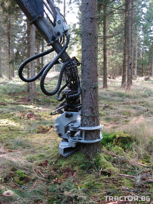 Машини за дърводобив Поваляща глава HYPRO  FG45 4