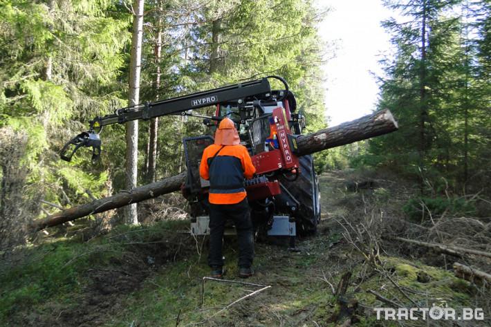 Машини за дърводобив HYPRO 450 XL - процесор за кастрене и разкрой 0 - Трактор БГ