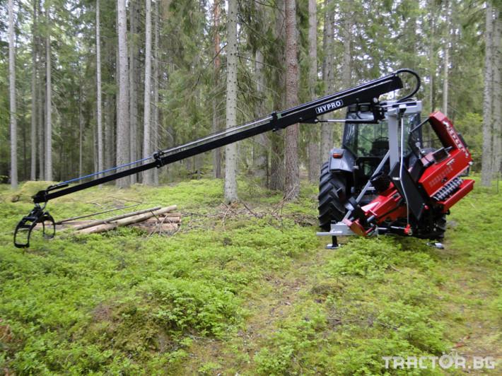 Машини за дърводобив HYPRO 450 XL - процесор за кастрене и разкрой 2 - Трактор БГ
