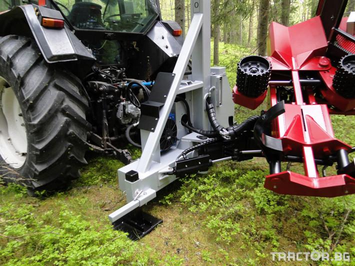 Машини за дърводобив HYPRO 450 XL - процесор за кастрене и разкрой 3 - Трактор БГ