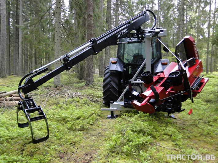 Машини за дърводобив HYPRO 450 XL - процесор за кастрене и разкрой 4 - Трактор БГ
