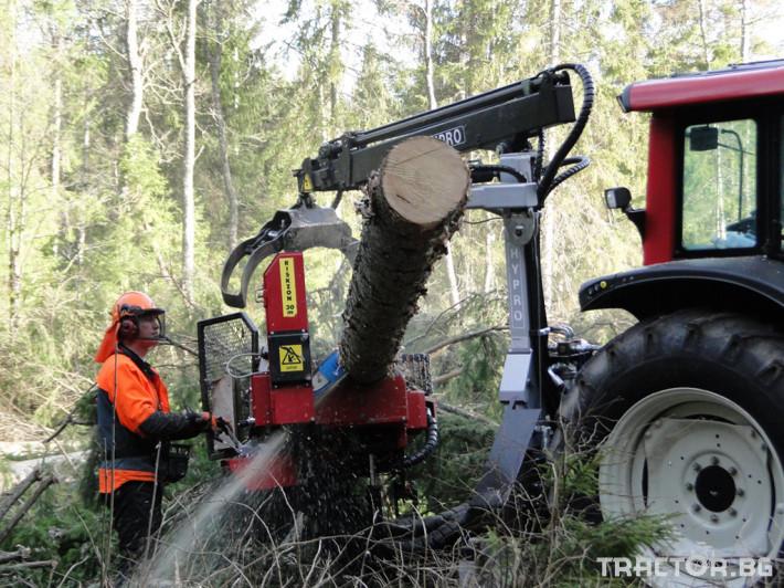 Машини за дърводобив HYPRO 450 XL - процесор за кастрене и разкрой 5 - Трактор БГ