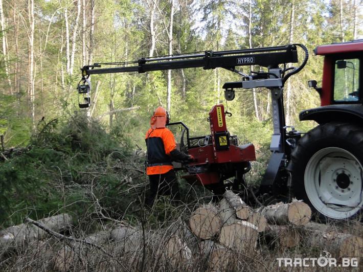 Машини за дърводобив HYPRO 450 XL - процесор за кастрене и разкрой 6 - Трактор БГ