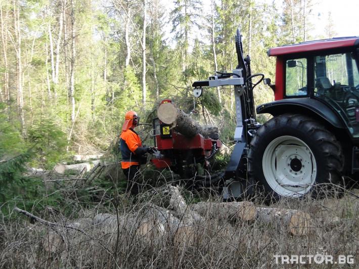 Машини за дърводобив HYPRO 450 XL - процесор за кастрене и разкрой 7 - Трактор БГ