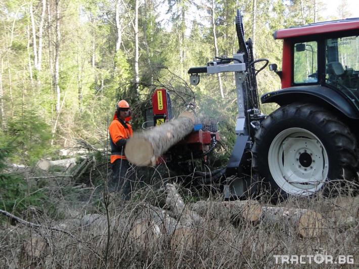 Машини за дърводобив HYPRO 450 XL - процесор за кастрене и разкрой 8 - Трактор БГ