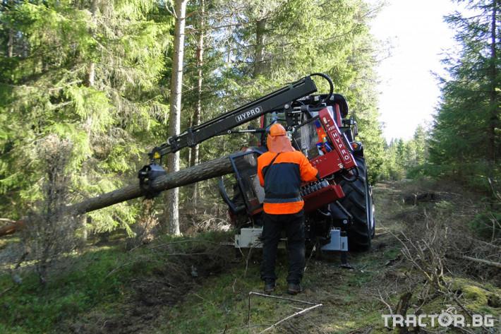 Машини за дърводобив HYPRO 450 XL - процесор за кастрене и разкрой 10 - Трактор БГ