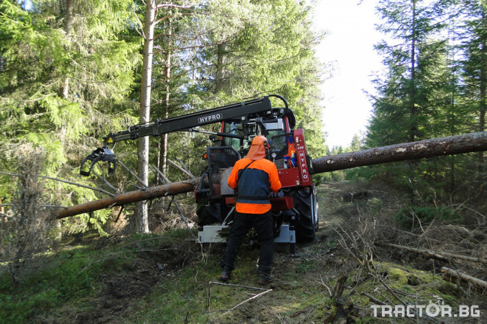 Машини за дърводобив HYPRO 450 XL - процесор за кастрене и разкрой 11 - Трактор БГ