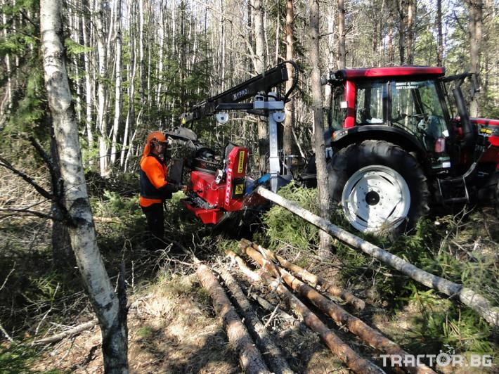 Машини за дърводобив HYPRO 450 XL - процесор за кастрене и разкрой 13 - Трактор БГ